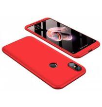 Luanke 360 Fokos Kemény Tok Xiaomi Mi A2 / 6X Készülékre - Piros