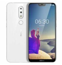 EU ECO Raktár - Nokia X6 ( Nokia 6.1 Plus ) 4G okostelefon Nemzetközi verzió - Fehér