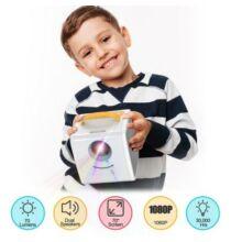 EU ECO Raktár - Excelvan Q2 Projektor Gyermekeknek - Sárga