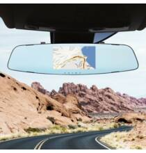 Gocomma A2 4.3 inch HD Autós Visszapillantó Tükör DVR Funkcióval