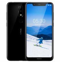 EU ECO Raktár - Nokia X5 4G okostelefon - 3GB 32GB - Fekete
