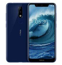 EU ECO Raktár - Nokia X5 4G okostelefon - 3GB 32GB - Kék