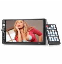 EU ECO Raktár - Gocomma 7010B HD Érintőképernyő Bluetooth / FM rádió / SD kártya / USB Autós Multimédia lejátszó - 720P Tolatókamerával