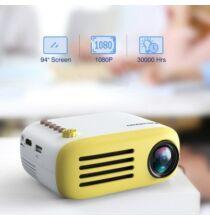 Excelvan YG200 LCD Okos Projektor - Sárga