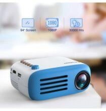Excelvan YG200 LCD Okos Projektor - Kék