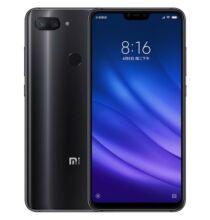 Xiaomi Mi 8 Lite 4G okostelefon 128GB ROM 6GB RAM 24.0MP Előlapi kamera - Fekete