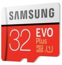 Samsung Evo Plus microSD Memóriakártya - 32GB