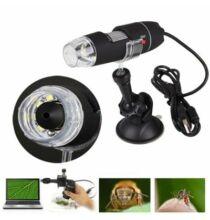 Digitális USB Mikroszkóp 500X Nagyítással LED lámpával