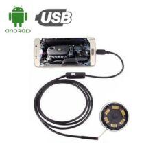 Explosion Okostelefonnal Használható USB Endoszkópos Kamera - 8 mm - 1.5 méter