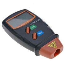 Handheld Digitális Lézeres Tachometer Sebesség és Fordulatszámmérő