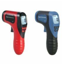 Digitális Lézeres Tachometer Sebesség és Fordulatszámmérő - Kék