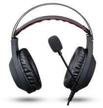 NUBWO N2 Gamer Sztereó Fejhallgató Mikrofonnal - Fekete