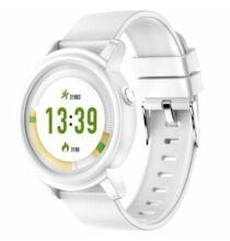 NY01 Vízálló Aktivitás mérő Sport Okos óra - Fehér