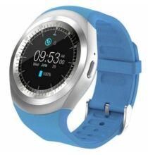 Alfawise 696 Y1 Bluetooth Okostelefonhoz csatlakoztatható Sport okosóra - Kék