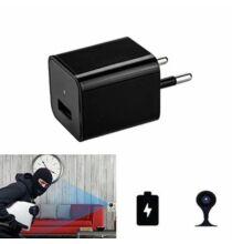 M1 Mini 1080P HD USB Töltő Adapterbe Épített Kamera