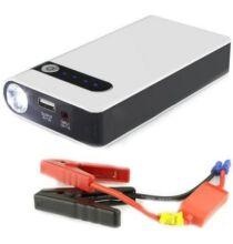 Autós Gyorsindító Power Bank USB csatlakozóval és elemlámpa funkcióval