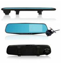 4.3 inch 1080P Dual Lencsés Autós Visszapillantó Tükör