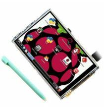 3.5 Inch Raspberry Pi 3B+ Külső Érintőkijelzős Kijelző Érintő tollal