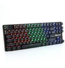 MAGIC - REFINER 1506 RGB Retro Mechanikus Gamer Billentyűzet