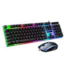 G21 RGB Gamer Billnetyűzet + Egér Szett - Fekete