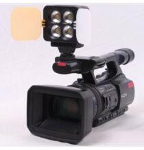 ZIFON T4 Kamerára szerelhető Led Fotós Lámpa