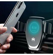 Univerzális Vezeték nélküli QI Gyors töltő Autóba