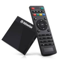 Alfawise A9 4K Amlogic S905 Android 8.1 TV Box - Fekete