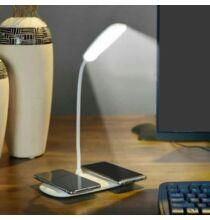 QL8 Asztali Lámpa Vezetéknélküli Okostelefon Töltővel