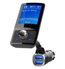 BC43 Autós Vezetéknélküli Bluetooth Kihangosító FM Transzmitter