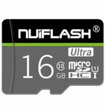 NUIFLASH TF Micro SD Memóriakártya - 16GB