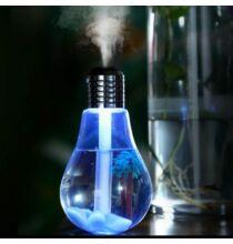 LED Lámpa Ultrahangos Párásító Otthoni illóolaj Diffúzor -Ezüst