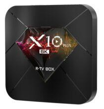 EU ECO Raktár - R-TV X10 Plus TV Box Android 9.0 Android 9.0/ 4GB RAM + 32/64GB ROM