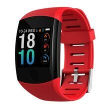 Q11 Okos Vezetéknélküli Bluetooth Sport Óra - Piros