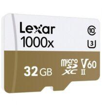 EU ECO Raktár - Lexar 1000x Professzionális Micro SD / TF Kártya - 32GB
