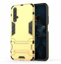 Ütésálló Telefon Tok Huawei Honor 20 Készülékre - Arany