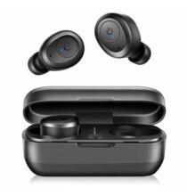Bilikay T03 Bluetooth HiFi Vezetéknélküli Sztereó Fülhallgató - Fekete