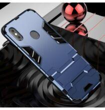 Ütésálló Mobiltelefon Tok Xiaomi Mi 8 Pro Készülékre - Sötét Kék