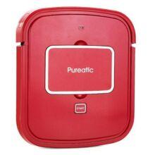 EU ECO Raktár - Pureatic V101 Ultra-thin Vezetéknélküli USB Tölthető Robot Vákumos Porszívó - Piros