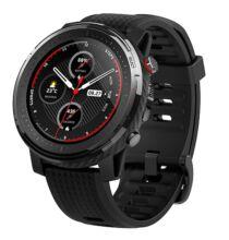 EU ECO Raktár - Amazfit Stratos 3 Smart GPS Sport Okosóra - Fekete