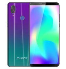 EU ECO Raktár - Cubot X19 S 4G Okostelefon 5.93 inch Android 9.0 MT6763 Octa Core 4GB RAM 32GB ROM - Lila