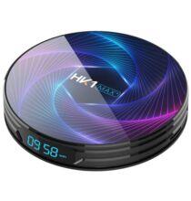 EU ECO Raktár - HK1 MAX+ Android 9.0 Smart TV Box - 4GB RAM+64GB ROM