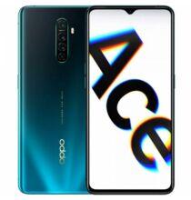 EU ECO Raktár - OPPO Reno Ace 4G okostelefon 6.5 inch Android 9.0 Snapdragon 855 Plus Octa Core 8GB RAM 256GB ROM - Kék