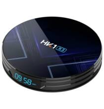 EU ECO Raktár - HK1 X3 Android 9.0 Smart TV Box -  4GB RAM+32GB ROM