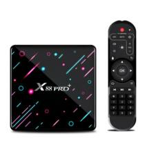 EU ECO Raktár - X88 Pro+ Android 9.0 4K  TV Box - 4GB RAM + 64GB ROM - Fekete