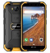 EU ECO Raktár - Ulefone Armor X6 3G Okostelefon 5 inch Android 9.0 MT6580 Quad Core 2GB RAM 16GB ROM - Narancssárga