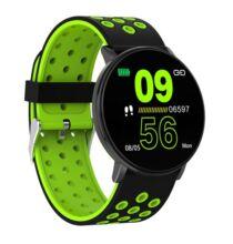 W8 Vezetéknélküli Bluetooth Sport IP67 Vízálló Okosóra - Zöld