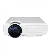 Bilikay T5 PRO 1080P Android System 1GB RAM 8GB ROM 3600Lux Portable Mini Projector HDMI VGA USB TV Laptop DVD - Fehér
