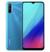 EU ECO Raktár - OPPO realme C3 4G Okostelefon Helio G70 Octa-core Up to 2.0GHz Android 10 3GB 64GB 6.5 inches előlapi Camera 12MP + 2MP + 2MP 5000mAh Akkumulátor - Kék