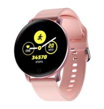 X9 1.3 inch HD IPS Kijelzős Vezetéknélküli Bluetooth Sporttevékenységmérő Okosóra - Rózsaszín