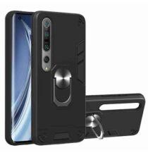 Two-In-One Ütésálló Mobiltelefon Tok Xiaomi 10 / 10 Pro Készülékre - Fekete